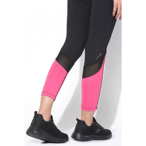 Crescent Leggings Black Pink-Sports Leggings HWC-Silvertraq-Silvertraq