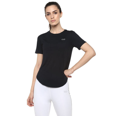 Breezy Tee Black-Lounge Tee SS-Silvertraq-Black-S-Silvertraq