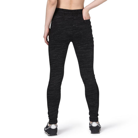 Stricky Joggers Black White-Tracks Pants-Silvertraq-Silvertraq
