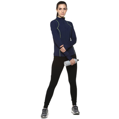 Ath Runner Zip Neck-Roll Shirt-Silvertraq-Silvertraq