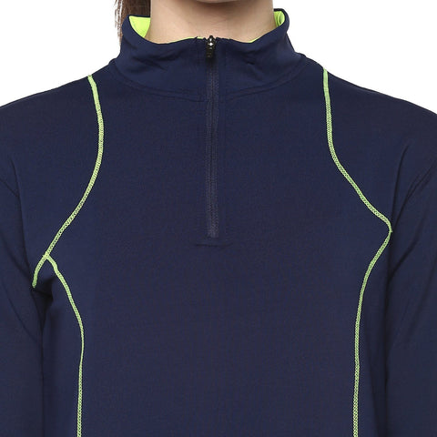 Ath Runner Zip Neck