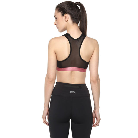 Lumos Sports Bra Black-Sports Bra-Silvertraq-Silvertraq