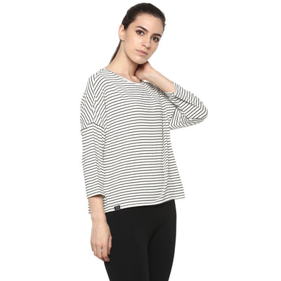 Essence Striped Tee-T-Shirt-Silvertraq-Silvertraq