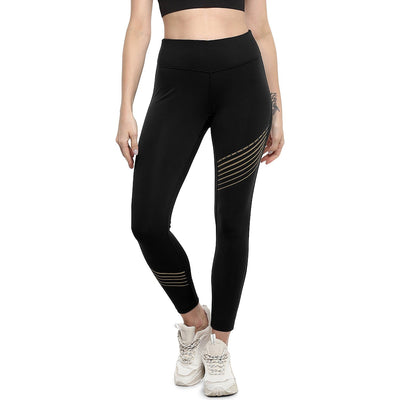 Luxe Gold Reflector Leggings