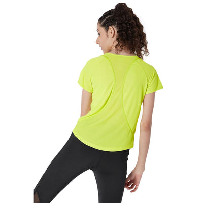 Endure Tee Sulphur Yellow-Tops-Silvertraq-Sulphur Spring-XS-Silvertraq