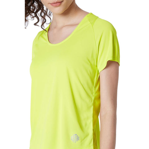 Endure Tee Sulphur Yellow-Tops-Silvertraq-Silvertraq