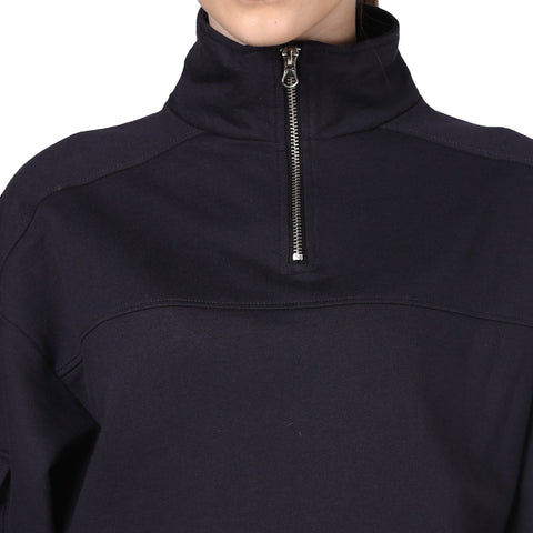 Bomber Zip Neck