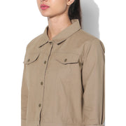 Canvas Jacket Tan-Lounge Canvas Jackets-Silvertraq-Silvertraq