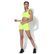 Flex Shorts Neon Yellow-Shorts-Silvertraq-Silvertraq