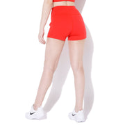 Flex Shorts Orange-Shorts-Silvertraq-Silvertraq