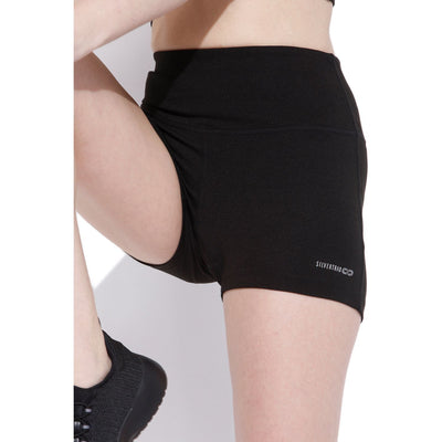 Flex Shorts Black-Shorts-Silvertraq-Silvertraq