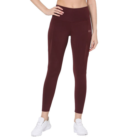 Champion Leggings Plum-Sports Leggings HWC-Silvertraq-Silvertraq