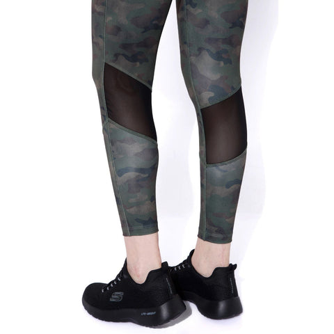 Ath Perform High Waist 7/8 Leggings Army Camo-Sports Leggings HWC-Silvertraq-Silvertraq