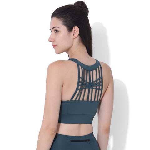 Biker Kross Bra Teal-Top-Silvertraq-Silvertraq