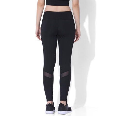 Biker Moto Leggings Black-Leggings-Silvertraq-Silvertraq