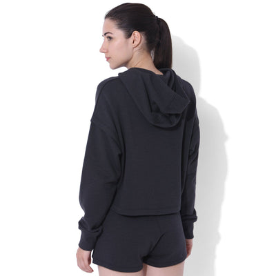 Balance Split Sleeve Hoodie Black Out-Lounge Hoodie-Silvertraq-Black Out-XS-Silvertraq