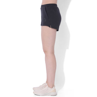 Balance Fleece Shorts Black Out-Lounge Shorts-Silvertraq-Black Out-XS-Silvertraq