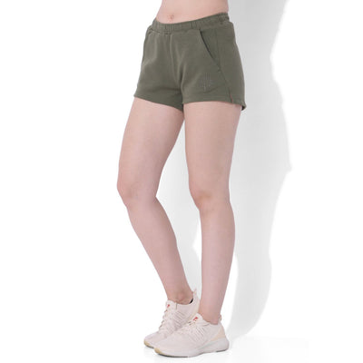 Balance Fleece Shorts Dusty Olive-Lounge Shorts-Silvertraq-Dusty Olive-XS-Silvertraq