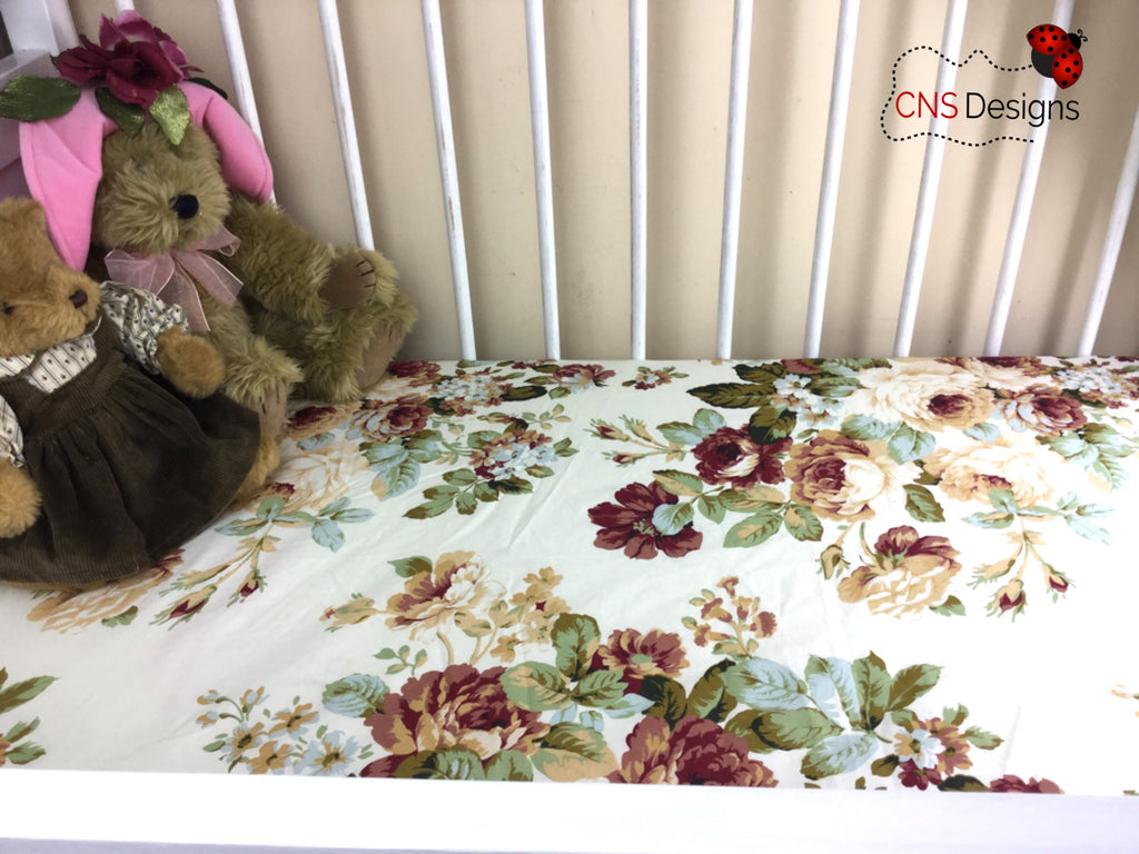 Sadie Cot Fitted Sheet