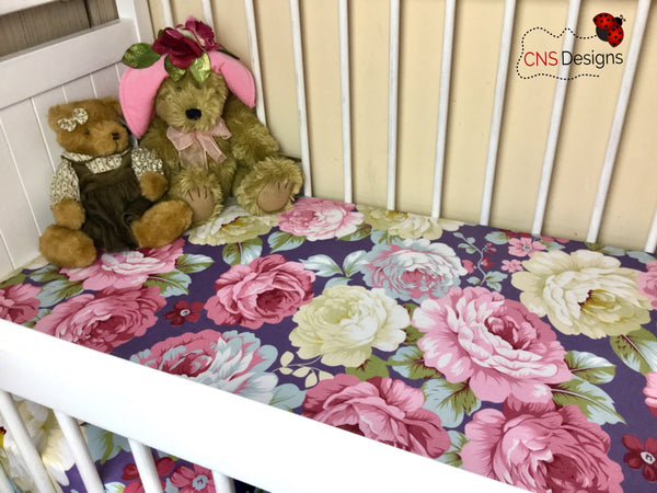 Charlotte Cot Fitted Sheet