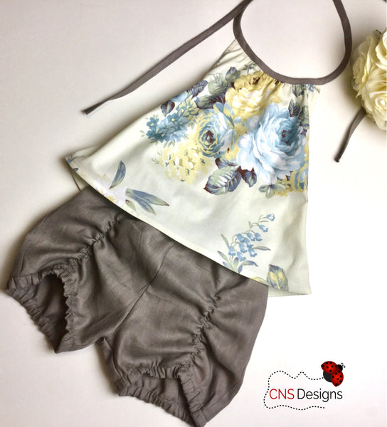 Oriana Darling Shorts Set