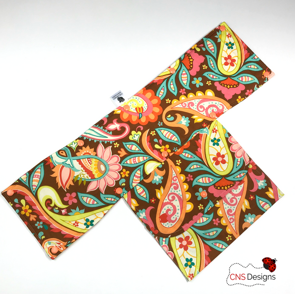 Funky Paisley  Trolley Handle Cover