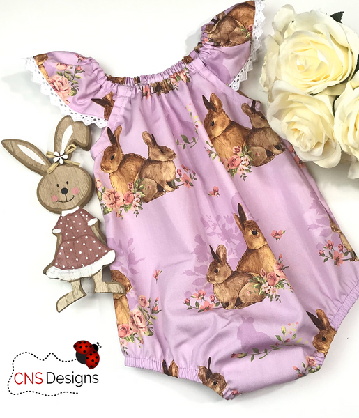 Cuddle Bunny SeaSide Romper