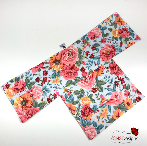 Sky Floral Trolley Handle Cover