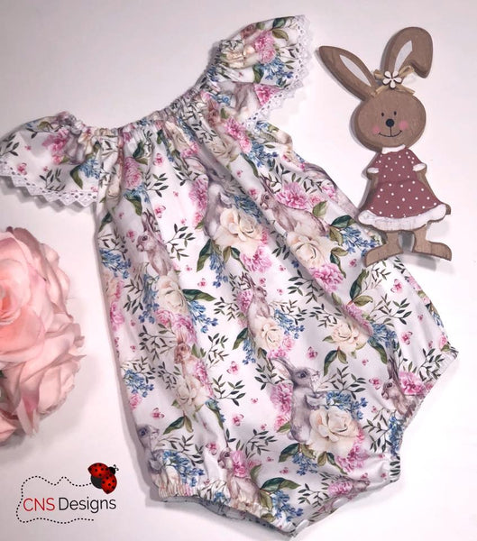 Bunny SeaSide Romper