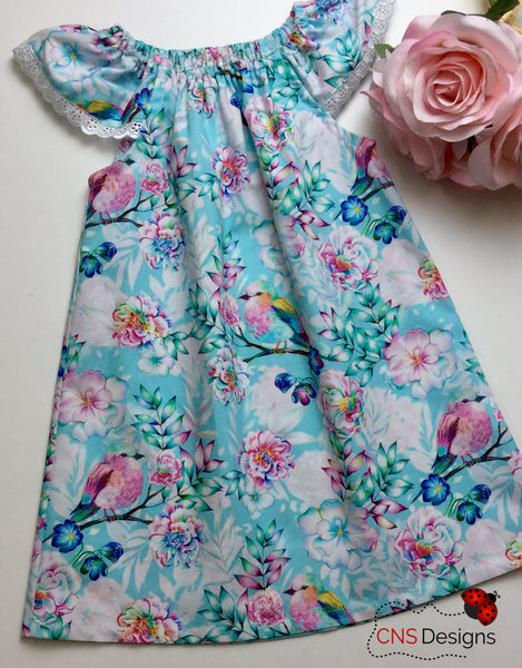 Sweet Tweet Blue (SeaSide Dress)