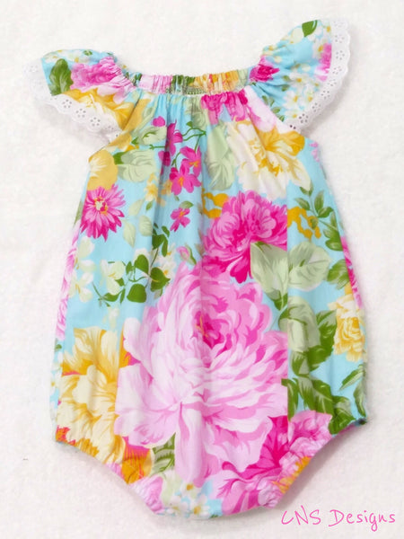 Summer SeaSide Romper