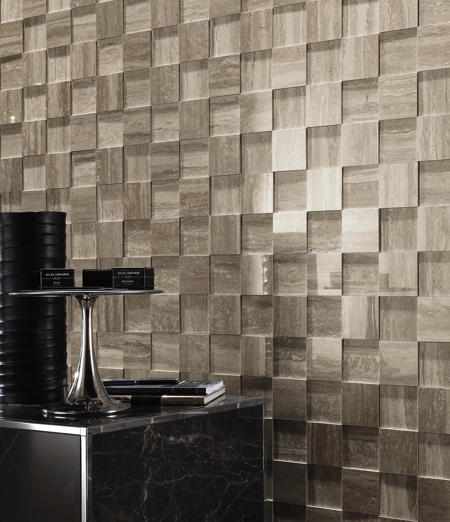 Silver Travertine 3D