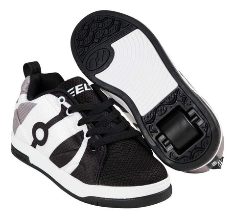Heelys Repel Black Grey White One Wheel Heelys - Main View