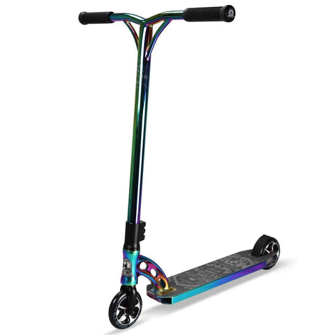 Black Neochrome MGP Stunt Scooter - Main View