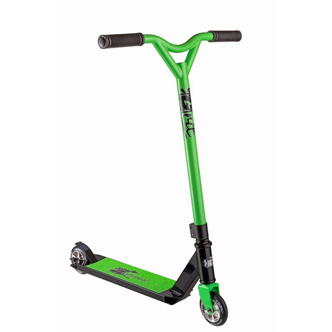Grit 2017 Extremist Stunt Scooter - Black/Green