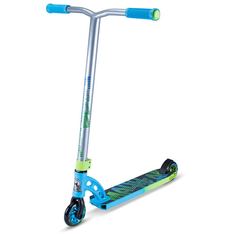 BLUE GREEN MGP STUNT SCOOTER - MAIN VIEW