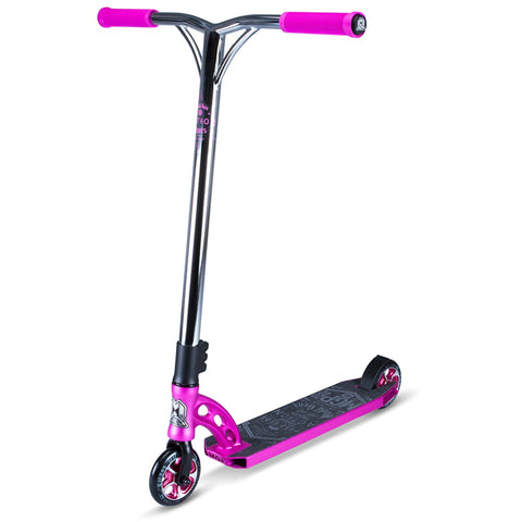 PINK CHROME MGP STUNT SCOOTER - MAIN VIEW