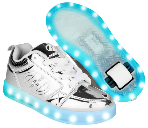 Chrome Light Up Heelys  - Main View