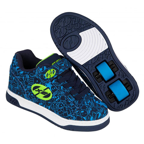 Blue Green Boys Two Wheel Heelys - Main View
