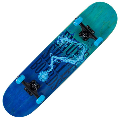 Enuff Pyro Fade Blue Skateboard - Main View