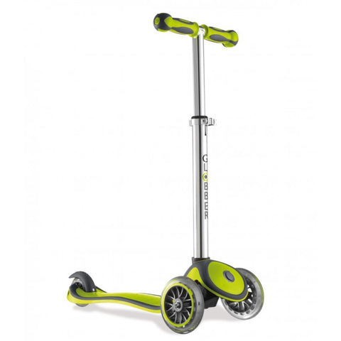 Globber Green Three Wheel Toddler Scooter