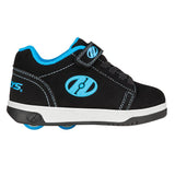 Heelys X2 Dual Up - Black / Cyan / White