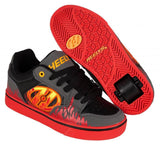Heelys Motion Plus Grey/Black/Flames