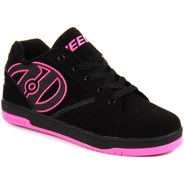 9227a37a5f Heelys Propel 2.0 Black Hot Pink Girls One Wheel Heelys – Skate Sale