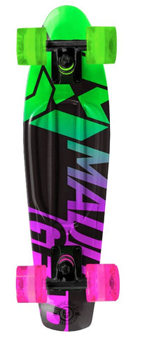 Madd Gear Pro Urban Wrap Retro Cruiser - Fader Lime / Pink
