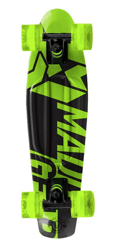 Madd Gear Pro Urban Wrap Retro Cruiser - Oblique Lime