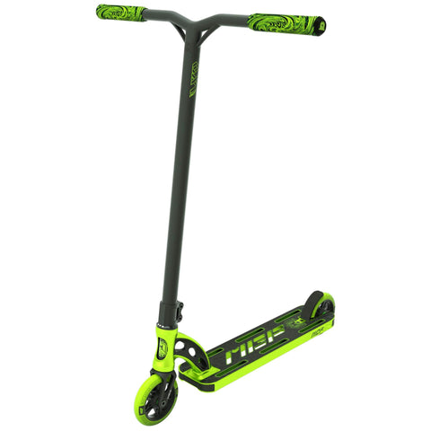 "MGP VX9 Team 4.5"" Stunt Scooter - Lime Green"