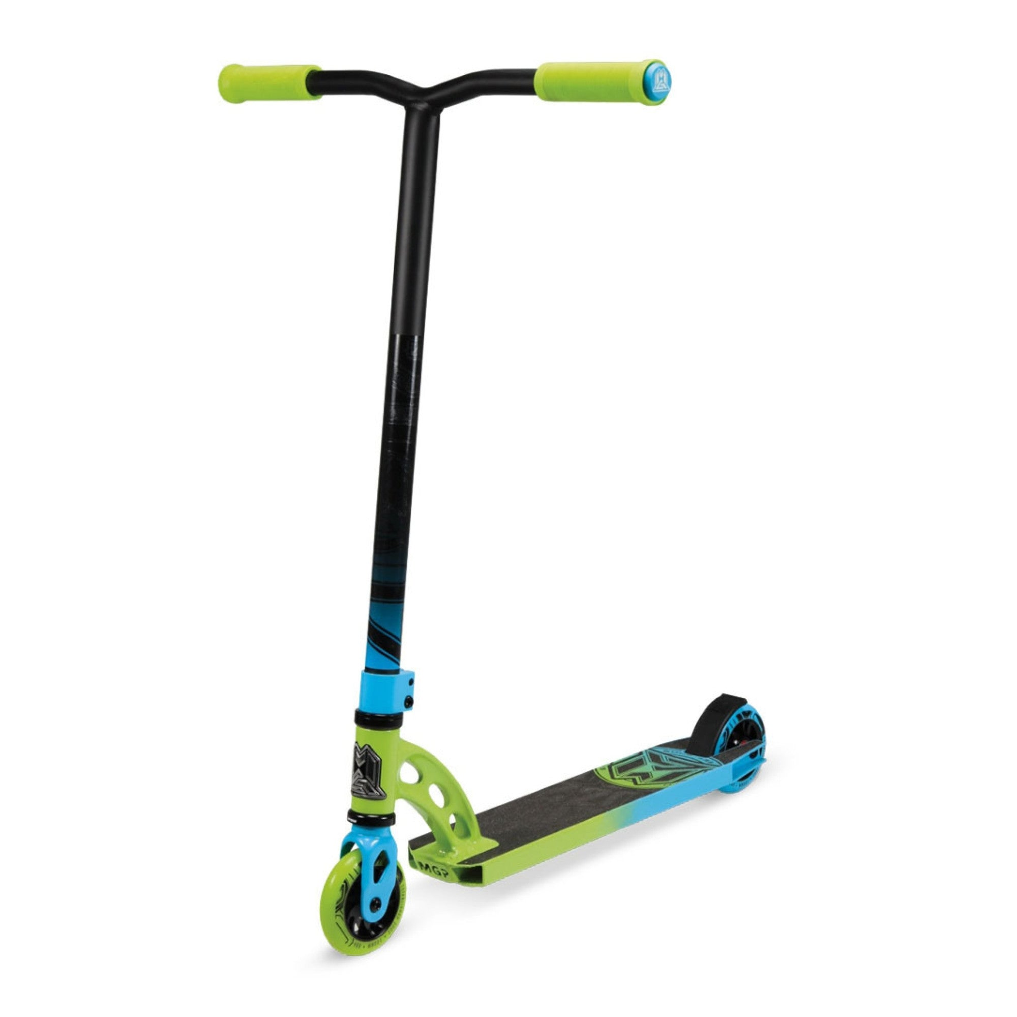mgp vx6 pro complete stunt scooter lime blue ebay. Black Bedroom Furniture Sets. Home Design Ideas