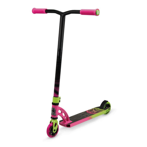 MGP VX6 Pro Complete Stunt Scooter - Pink/Green