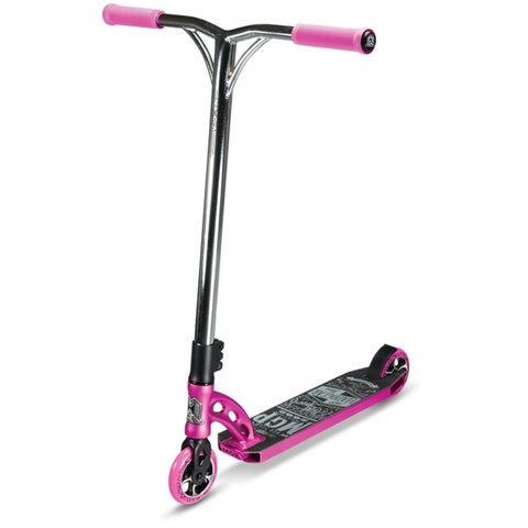 MGP VX6 Team Complete Stunt Scooter - Pink/Chrome